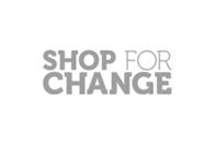 Shop for Change Logo
