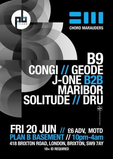 Chord Marauders Poster