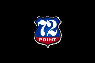 72 Point Logo