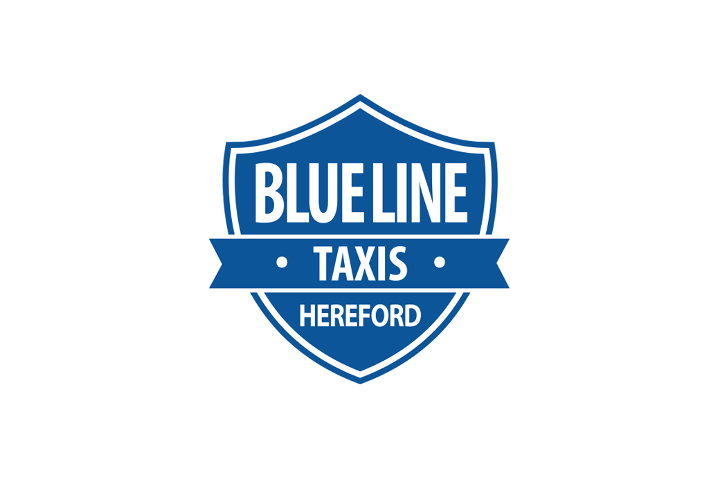 Blue Line Private Hire Logo